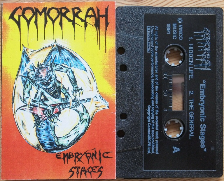 Gomorrah - Embryonic Stages