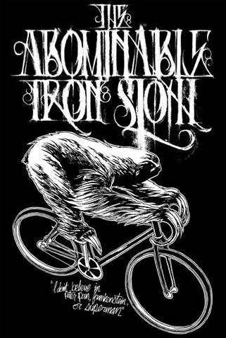 The Abominable Iron Sloth - Logo
