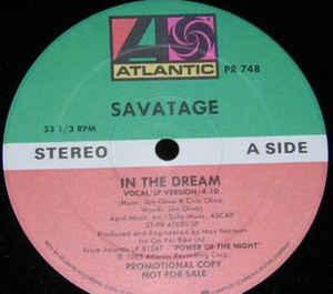 Savatage - In the Dream