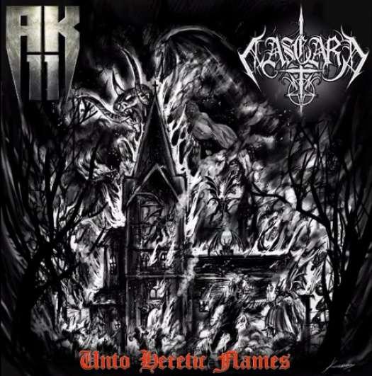 Aasgard / AK-11 - Unto Heretic Flames