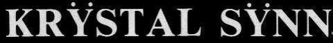 Krÿstal Sÿnn - Logo