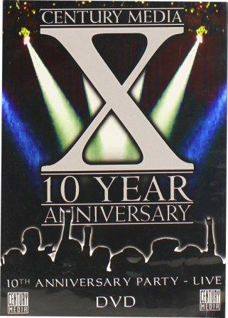 Nevermore / Strapping Young Lad / Shadows Fall / Scar Culture / Eyehategod / Skinlab - Century Media 10th Anniversary Party - Live