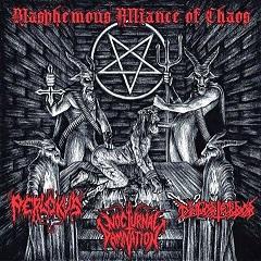 Disforterror / Nocturnal Damnation / Perlokus - Blasphemous Alliance of Chaos