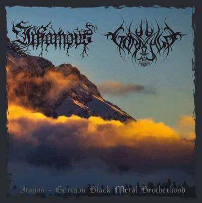 Gorrenje / Infamous - Italian - German Black Metal Brotherhood