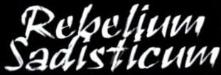 Rebelium Sadisticum - Logo