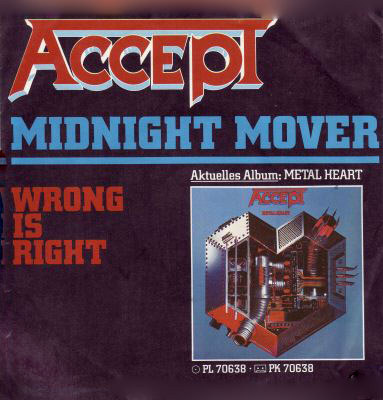 Accept - Midnight Mover