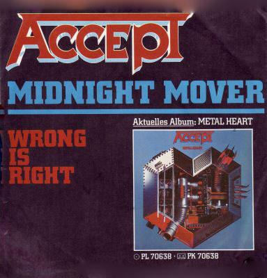 Accept - Midnight Mover