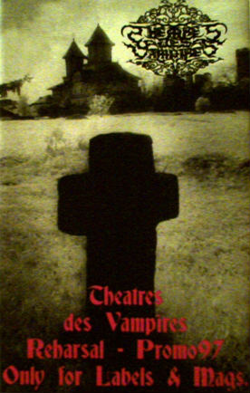 Theatres des Vampires - Reharsal - Promo97