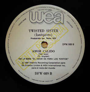 Twisted Sister - Madonna / Twisted Sister