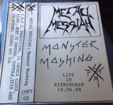 Metal Messiah - Monster Moshing
