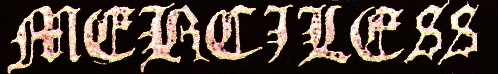 Merciless - Logo