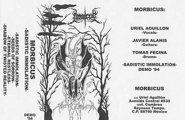 Morbicus - Sadistic Immolation