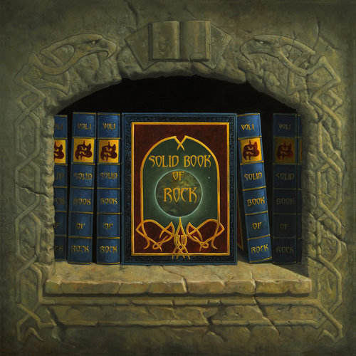 Saxon - Solid Book of Rock