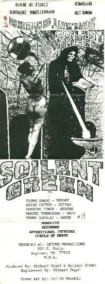 Soilent Green - Satanic Drug Frog