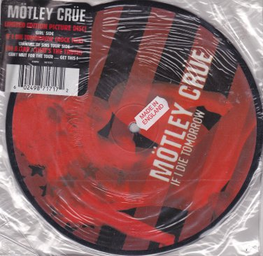 Mötley Crüe - If I Die Tomorrow (radio single)
