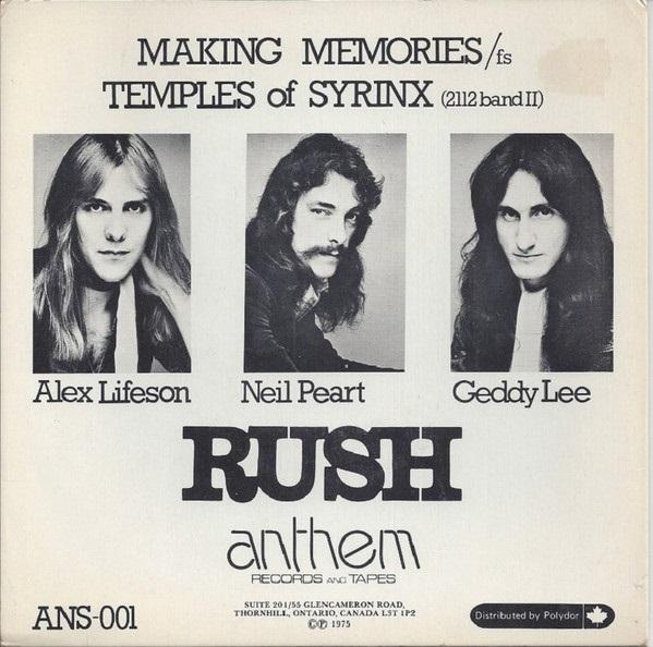 Rush - Making Memories