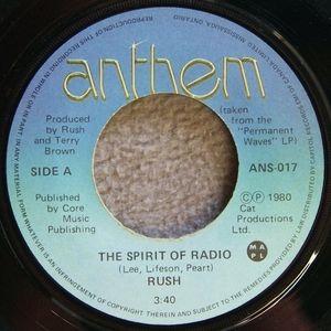 Rush - The Spirit of Radio