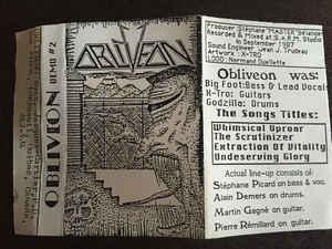 Obliveon - Demo #2