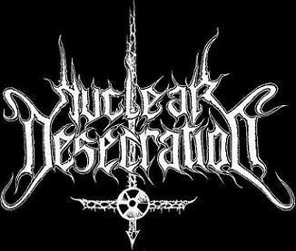 Nuclear Desecration - Logo