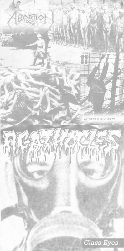 Abortion / Agathocles - Glass Eyes / We Never Forget !!!