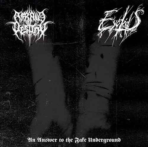 Afraid of Destiny / Eyelids - An Answer to the Fake Underground