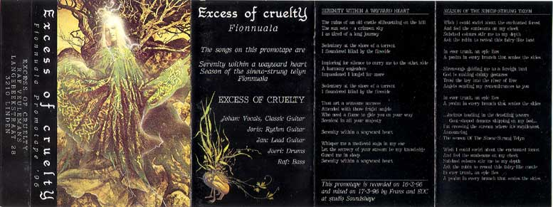 Excess of Cruelty - Fionnuala