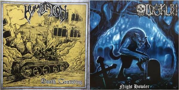 Humiliation / Oldskull - Death Crawling / Night Howler