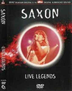 Saxon - Live Legends