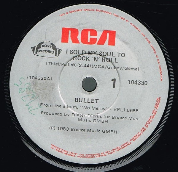 Bullet - I Sold My Soul to Rock'n'Roll