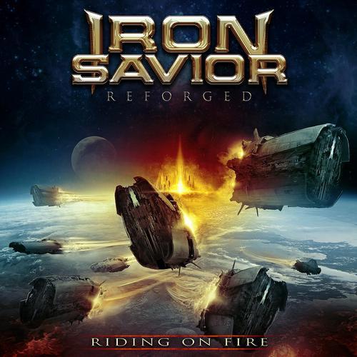 Iron Savior - Reforged - Riding on Fire