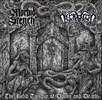 Necrogod / Morbid Stench - The Bifid Tongue of Doom & Death