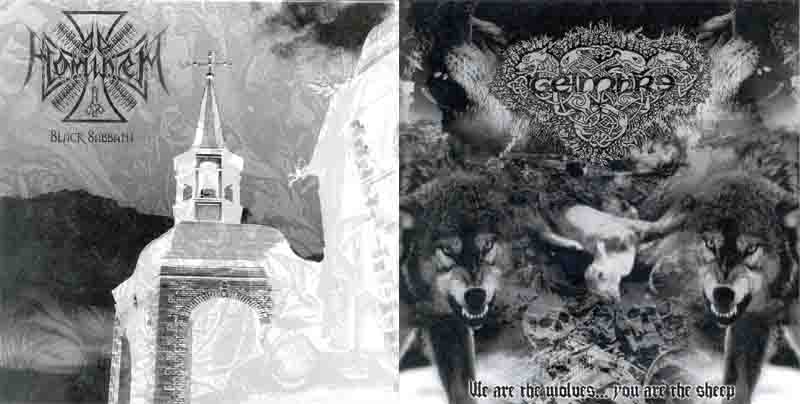 Geimhre / Ad Hominem - We Are the Wolves... You Are the Sheep / Black Sabbath