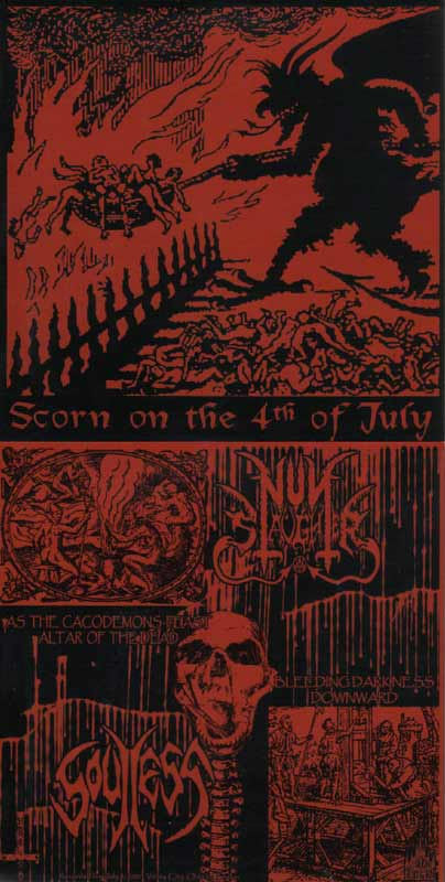 Soulless / Nunslaughter - Scorn on the 4th of July