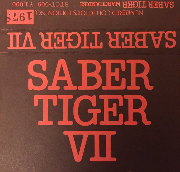 Saber Tiger - Saber Tiger VII