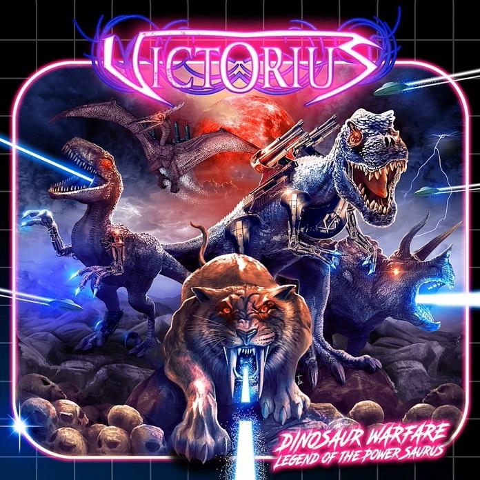 Victorius - Dinosaur Warfare - Legend of the Power Saurus