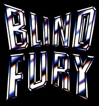 Blind Fury - Logo