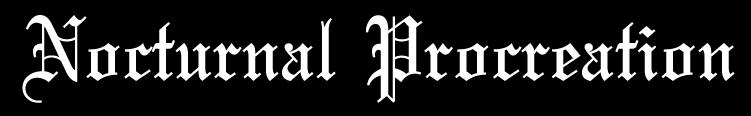 Nocturnal Procreation - Logo