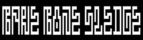 Bare Bone Sledge - Logo