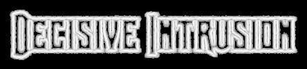 Decisive Intrusion - Logo