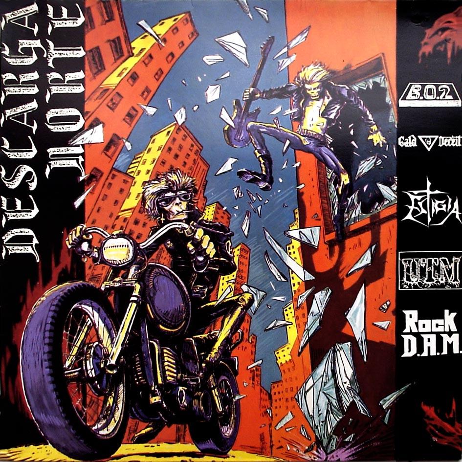 Estigia / Rock D.A.M. / Caid Deceit / U.T.M. / BO2 - Descarga norte