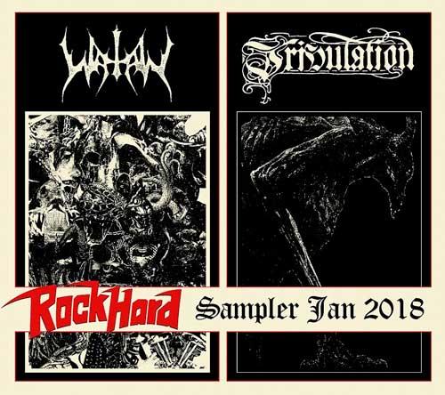 Watain / Tribulation - Rock Hard Sampler Jan 2018