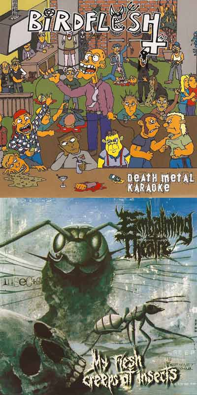 Birdflesh / Embalming Theatre - Death Metal Karaoke / My Flesh Creeps at Insects
