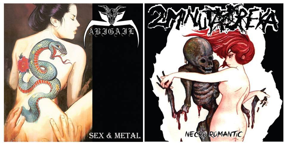 Abigail / 2 Minuta Dreka - Necro Romantic / Sex & Metal