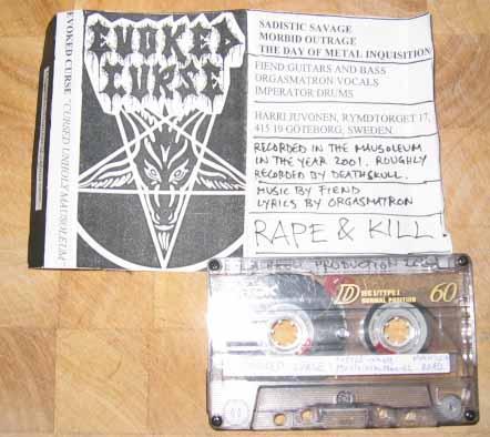 Evoked Curse - Cursed Unholy Mausoleum