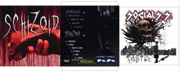 Schizoid / Social S.S. - Demon Inside / Liver