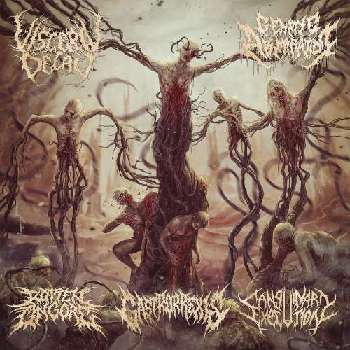 Sanguinary Execution / Gastrorrexis / Visceral Decay / Rotten on Gore / Genetic Aberration - Sutured Bleeding Wounds