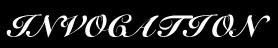 Invocation - Logo