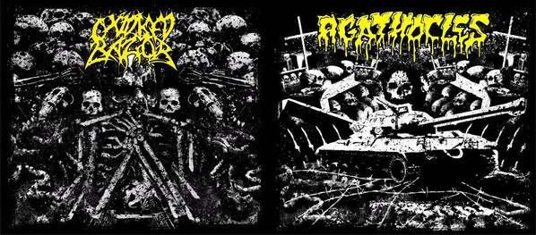 Oxidised Razor / Agathocles - Raw War
