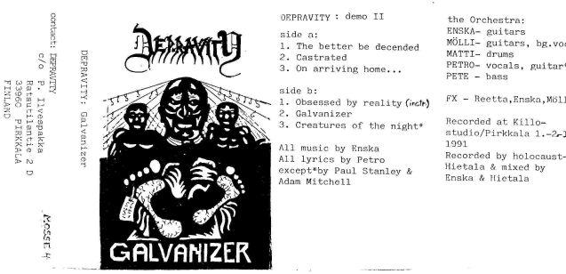 Depravity - Galvanizer