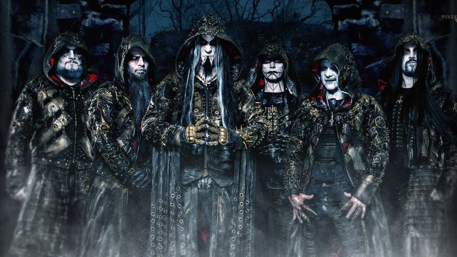 Dimmu Borgir members (Click to see larger picture)